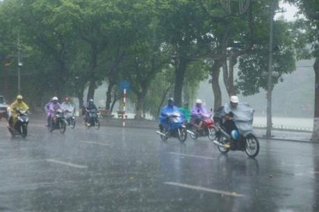 Dự báo thời tiết 20/4: Bắc Bộ mưa dông diện rộng