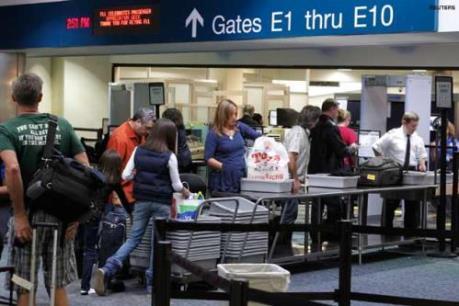Thượng viện Mỹ thông qua dự luật tăng cường an ninh sân bay