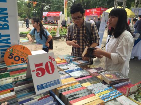 Có 87 đơn vị xuất bản, phát hành sách tham gia Hội sách lần thứ 3