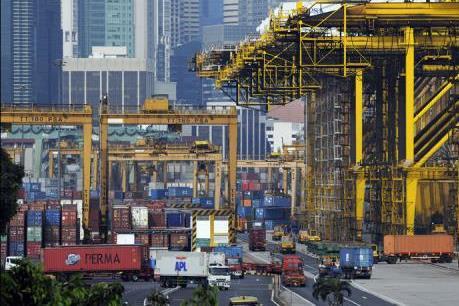 Xuất khẩu sa sút khiến kinh tế Singapore giảm tốc