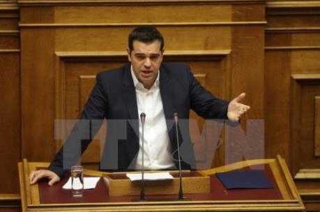 """Hy Lạp đề nghị  chủ nợ nới lỏng """"thắt lưng buộc bụng"""""""