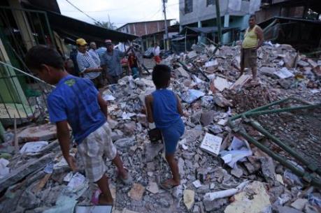 Hơn 1.500 địa chấn ở Ecuador sau động đất lịch sử