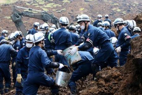 Động đất tại Nhật Bản: Mưa lớn làm tăng nguy cơ lở đất