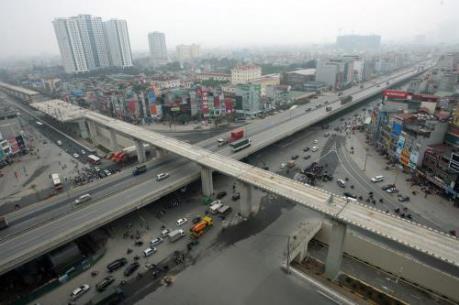 Hầm chui Thanh Xuân sửa chữa các điểm khe co giãn để đảm bảo mỹ quan