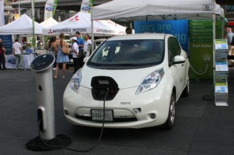 Canada quảng bá ô tô điện nhằm bảo vệ môi trường