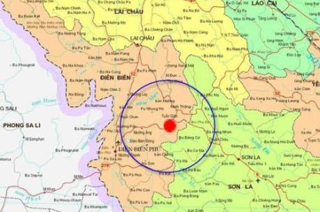 Xảy ra động đất mạnh 4,7 độ Richter tại Điện Biên