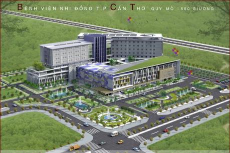 Bệnh viện Nhi đồng hiện đại nhất đồng bằng sông Cửu Long đi vào hoạt động
