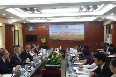 Thúc đẩy hợp tác Việt Nam-Hoa Kỳ trong lĩnh vực nông lâm thủy sản
