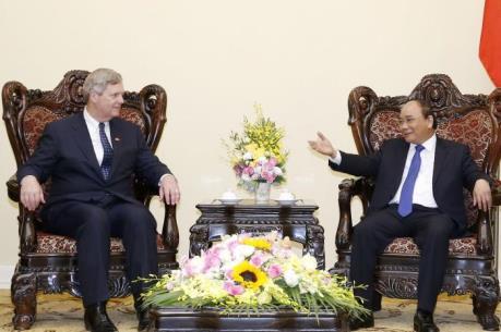 Thủ tướng Nguyễn Xuân Phúc đề nghị Hoa Kỳ hỗ trợ Việt Nam ứng phó với biến đổi khí hậu
