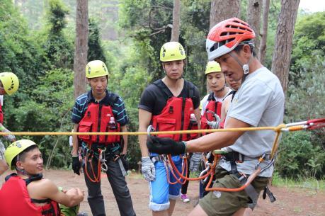 Thẩm định lại tour du lịch mạo hiểm tại thác Datanla, Lâm Đồng