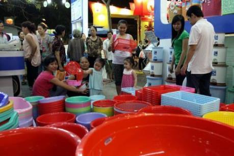 Khai mạc Hội chợ Hàng Việt Nam chất lượng cao Tp. Hồ Chí Minh