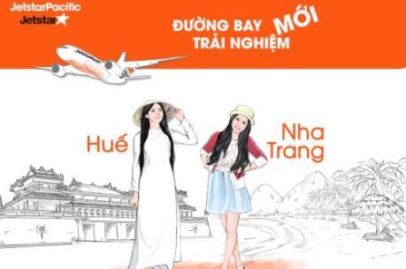 Jetstar Pacific khai trương tuyến Huế - Nha Trang