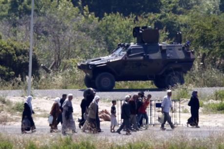 Vấn đề người di cư: Đan Mạch đề xuất triển khai binh sĩ kiểm soát biên giới