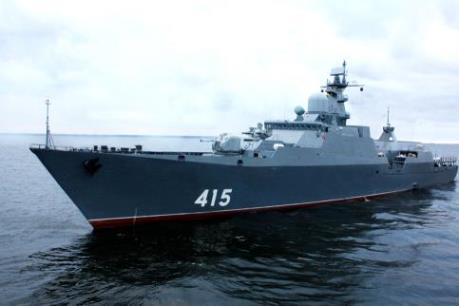 Nga hạ thủy chiến hạm Gepard đóng cho Việt Nam
