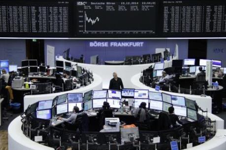 Chứng khoán Âu-Mỹ được tiếp sức từ cuộc họp của Fed