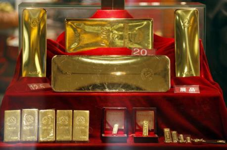 Giá vàng châu Á ngày 28/4 tăng lên mức cao nhất trong một tuần