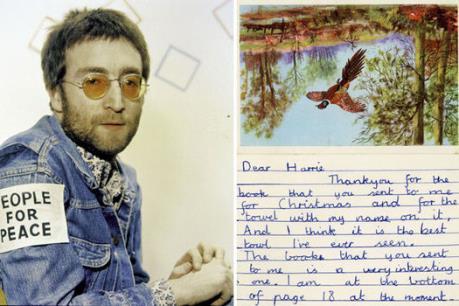Bức thư đầu đời của John Lennon đã không thể tìm được chủ nhân mới
