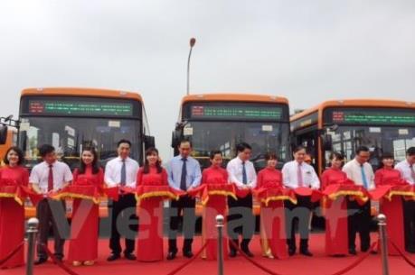 Khai trương tuyến buýt chất lượng cao giá 30.000 đồng đi Nội Bài