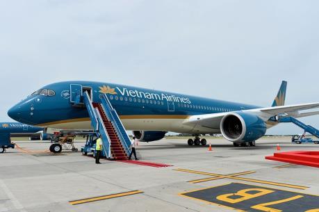 """Vietnam Airlines khai thác """"siêu tàu bay"""" Boeing 787-9 Dreamliner tuyến Hà Nội - Bắc Kinh"""