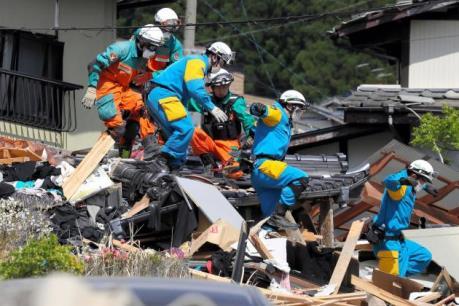 Nhật Bản: 12.000 nhà có thể đổ sụp sau động đất Kumamoto