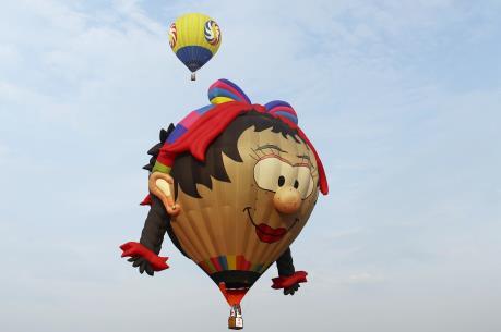 Ngày hội Khinh khí cầu quốc tế tại Huế