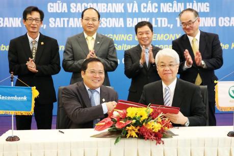 Sacombank hợp tác với Tập đoàn Resona Holdings