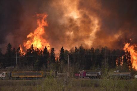 Cháy rừng tại Canada: Gần 1.600 ngôi nhà bị thiêu rụi