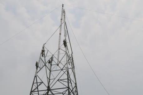 Lập đoàn kiểm tra, xác minh sự cố đổ cột điện đường dây 500 kV ở Bắc Giang