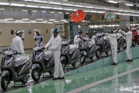 Honda tăng doanh số xe máy ở thị trường Ấn Độ