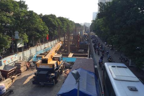 Hoàn thành dự án đường sắt Nhổn - ga Hà Nội vào năm 2018