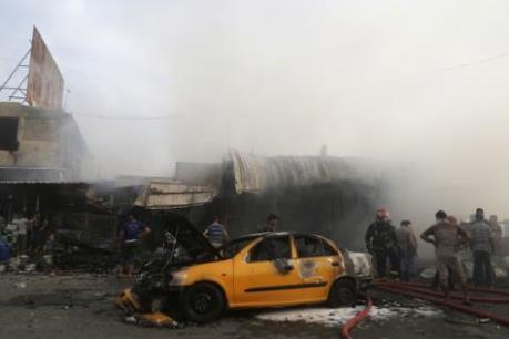 Đánh bom xe đẫm máu ở Iraq: Gần 70 người thương vong