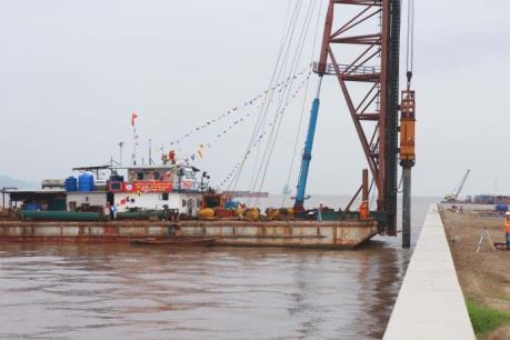 Khởi công Dự án Cảng Container quốc tế Hải Phòng
