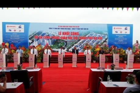 Khởi công Cảng thông quan nội địa lớn nhất Hà Nội