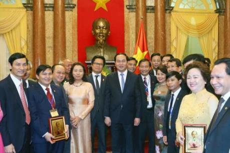 Bài phát biểu của Chủ tịch nước tại buổi tiếp đại biểu doanh nhân Việt Nam
