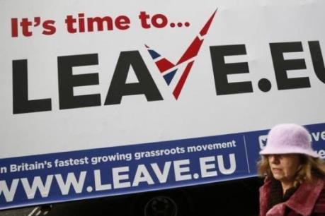 """Hàng trăm chủ doanh nghiệp Anh ủng hộ """"Brexit"""""""