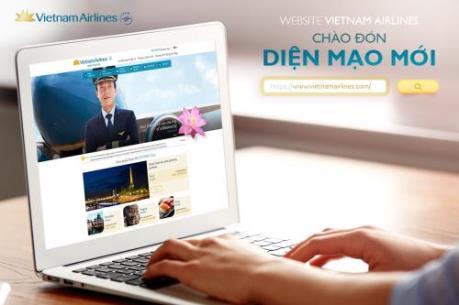 Vietnam Airlines ra mắt website mới với giao diện thân thiện hơn