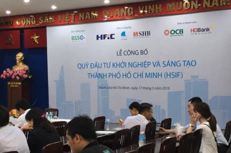 Công bố Quỹ đầu tư khởi nghiệp và sáng tạo Tp. Hồ Chí Minh