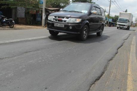 Xử lý lún trên Quốc lộ 1 đoạn qua Đồng Nai trước ngày 20/5