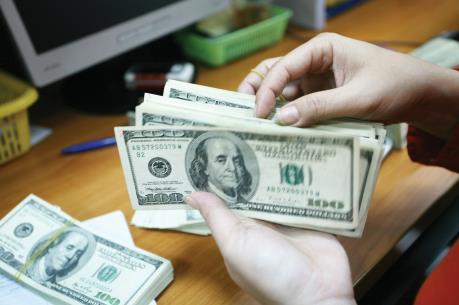 Tỷ giá trung tâm ngày 18 giảm 2 đồng