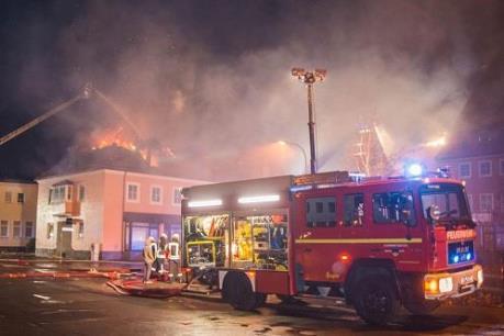 Cháy tại trung tâm tiếp nhận người di cư ở Italy