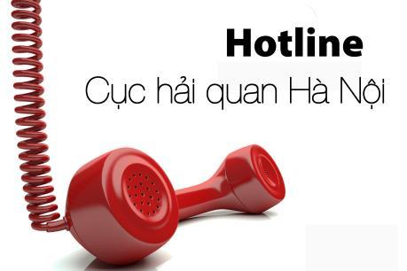 Hải quan Hà Nội công bố đường dây nóng