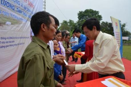 Nhà đầu tư cao tốc Thái Nguyên–Chợ Mới tri ân người dân địa phương