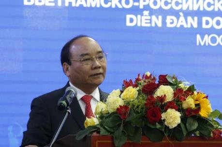Thủ tướng cam kết tạo điều kiện cho doanh nghiệp Nga đầu tư vào Việt Nam