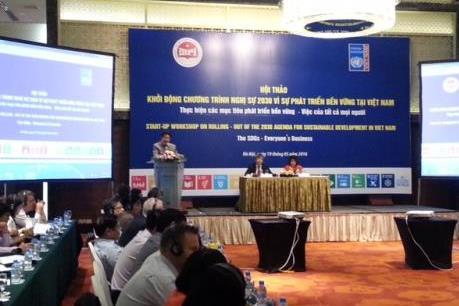 Việt Nam khởi động chương trình nghị sự 2030