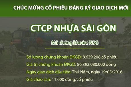 Nhựa Sài Gòn chào sàn UPCoM với hơn 8,6 triệu cổ phiếu