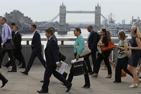 Người nhập cư châu Âu làm việc tại Anh tăng kỷ lục