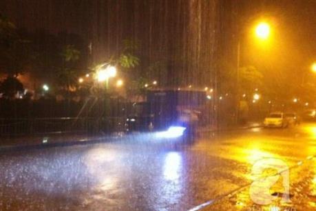 Dự báo thời tiết chiều tối và đêm 7/6: Đề phòng ngập úng tại Thủ đô