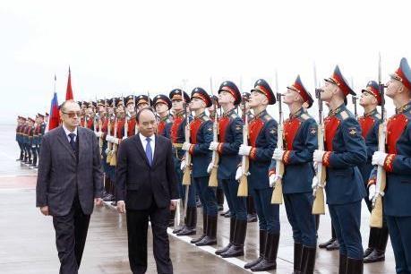 Kết thúc chuyến thăm liên bang Nga, Thủ tướng  Nguyễn Xuân Phúc dự hội nghị ASEAN-NGA