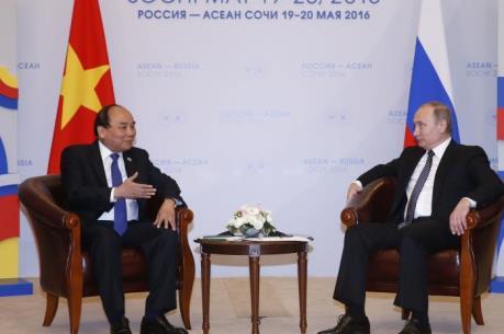 Tổng thống Putin: Việt Nam là một trong những ưu tiên đối ngoại của Nga