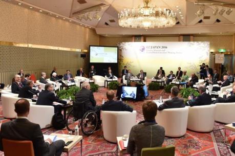 Bộ trưởng tài chính và Thống đốc Ngân hàng TƯ G7 bắt đầu hội nghị 2 ngày